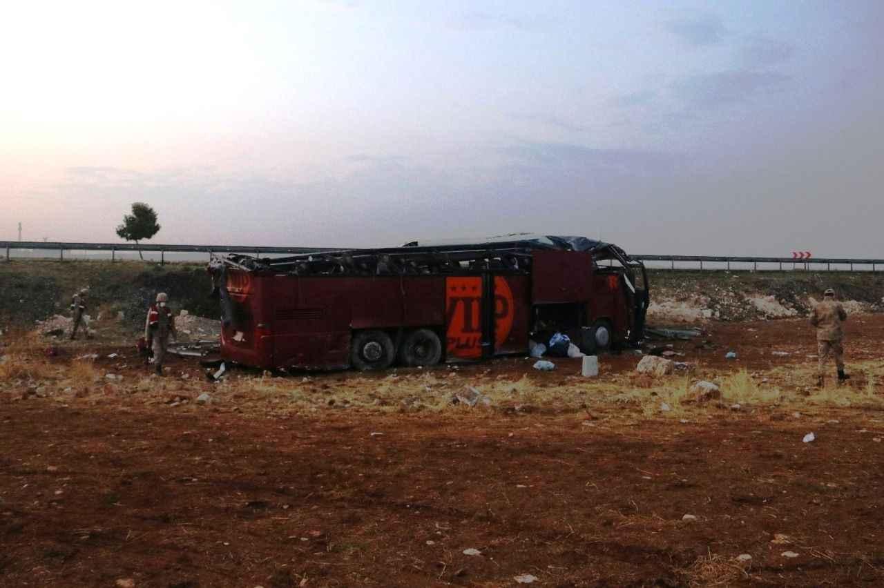 İşte Urfa'daki feci kazanın boyutu... - Şanlıurfa Asayiş Haberleri